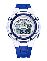 Kid's Sport Watch Digital Water Resistant / Water Proof Noctilucent Rubber Band Black Blue Pink