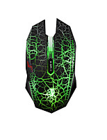 DAREU 7Keys 4000DPI Crack USB Wired Game Mouse With 180CM Cable