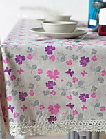 Others Printing Table cloths , Cotton Blend Material Other 1