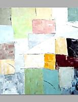 Ручная роспись Абстракция Современный 1 панель Холст Hang-роспись маслом For Украшение дома