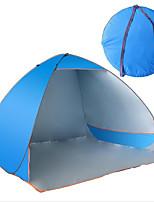 3-4 personnes Lit de Camp Tente automatique Tente de camping Toile Etanche Résistant aux ultraviolets
