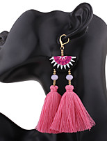 Women's Drop Earrings Tassel Alloy Jewelry ForWedding Party Anniversary Housewarming Party/Evening Office/Career Event/Party Dailywear