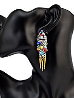 Mujer Pendientes colgantes TurquesaDiseño Básico Diseño Único Colgante Geométrico Amistad Gótico joyería película Joyería de Lujo Joyería