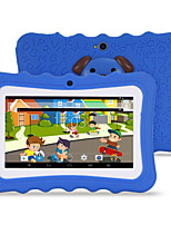 M711 7 inch Android 4.4.2 Quad Core 1024*600 TFT Screen 512M/8G 2500mah Kid Tablet Blue