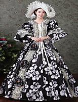 Un Pezzo/Vestiti Gotico Dolce Lolita Classica e Tradizionale Punk Da principessa Ispirazione Vintage Elegant Vittoriano Rococò Cosplay