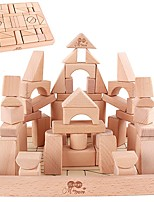 DIY KIT Building Blocks For Gift  Building Blocks Natural Wood 3-6 years old Toys