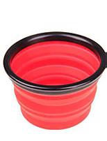 Chien Bols & Bouteilles d'eau Animaux de Compagnie Bols & alimentation Durable Jaune Rouge Vert Bleu