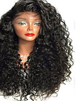 Big Discount Indian Human Hair Full Lace Wigs For Black Women 8-26 Inch Curly Hair Side Part