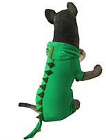 Perro Disfraces Ropa para Perro Halloween Animal Verde Rosa