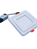New Design Square LED Panel Downlight 9W 3 Model LED Panel Lights AC85-265V Recessed Ceiling Panel Lights