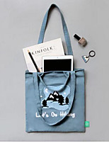 Women Shoulder Bag Canvas All Seasons Casual Outdoor Round Without Zipper Black Blue