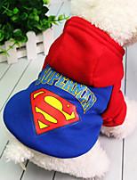Собака Толстовка Одежда для собак Сохраняет тепло Английский