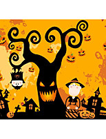 Halloween Wall Stickers/Glass Stickers/Store Window Decoration Stickers/Pumpkin Decorations