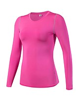 Women's Running T-Shirt Long Sleeves Fitness, Running & Yoga Compression Clothing Top for Yoga Running/Jogging Exercise & Fitness Leisure