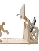Jigsaw Puzzles DIY KIT 3D Puzzles Building Blocks DIY Toys Other Natural Wood