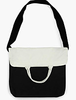 Women Shoulder Bag Canvas All Seasons Casual Outdoor Round Without Zipper Black