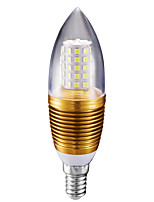 10W Ampoules Bougies LED C35 60 SMD 2835 700 lm Blanc Froid AC 85-265 V 1 pièce