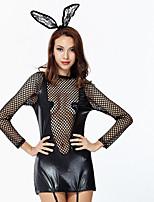 Nuisette & Culottes Jarretière Ultra Sexy Vêtement de nuit Femme,Sexy Push-up Rétro Solide