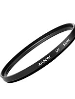 Andoer 67mm uv ultraviolet filtre protection lentille pour canon nikon dslr camera