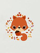 Wall Stickers Wall Decas Style Cartoon Fox PVC Wall Stickers