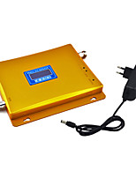 4G DCS 1800mhz Cell Phone Signal Booster Signal Repeater Amplifier with Power Supply LCD Display / Golden