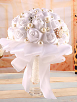 Wedding Flowers Bouquets Wedding Elastic Satin Polyester 8.27