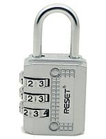RESET RST-071 Password Padlock Zinc Alloy 3-Digit Password Mini For Padlock Door Travel Trolley Case Gymnasium Backpack Dail Lock Password Lock
