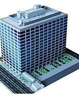 Пазлы Набор для творчества 3D пазлы Строительные блоки Игрушки своими руками Китайская архитектура Архитектура