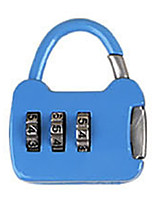 Other Zinc Alloy Password Padlock 3 Digit Password Notebook Small Password Lock Mini Bag Lock Metal Suitcase Box Bag Dail Lock Password Lock