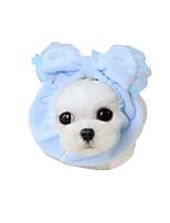 Hund Kopftücher & Hüte Hundekleidung Lässig/Alltäglich Schleife Gelb Blau Rosa