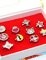 Inspired by Sailor Moon Sailor Moon Anime Cosplay Accessories Rings 10PCS