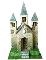 Jigsaw Puzzles DIY KIT 3D Puzzles Building Blocks DIY Toys Famous buildings Architecture Hard Card Paper