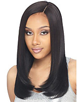 Premier ®Light Yaki Glueless Short Bob Haircut Front Lace Wig 100% Brazilian Virgin Human Hair Wigs for Women