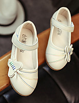 Girls' Flats Comfort PU Spring Casual Comfort Blushing Pink Beige Flat