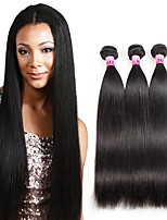 Peruvian Texture Unprocessed Human Straight Wave Virgin Hair 3 Bundles 100% Human Hair Weave 300g/Set
