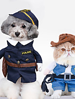 Cat Costume Dog Clothes Cosplay Jeans Random Color