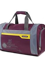 Women Travel Bag Oxford Cloth All Seasons Casual Sports Outdoor Weekend Bag Zipper Purple Dark Blue Red Black Blue