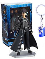 Figuras de Ação Anime Inspirado por Sword Art Online Kirito PVC 14 CM modelo Brinquedos Boneca de Brinquedo