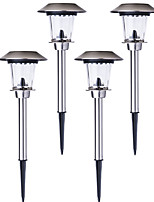 4PCS Outdoor Solar Lights