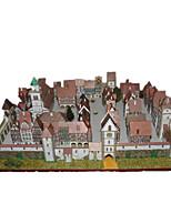 Puzzles Kit de Bricolage Puzzles 3D Blocs de Construction Jouets DIY  Maison