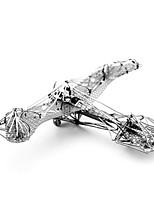 Quebra-cabeças Quebra-Cabeças 3D Quebra-Cabeças de Metal Blocos de construção Brinquedos Faça Você Mesmo Inovador Alumínio