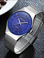 New Top Luxury Watch Men Brand Men's Watches Ultra Thin Stainless Steel Mesh Band Quartz Wristwatch Fashion Casual Watches Clock