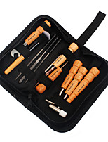 Professional Guitar Tool Kit Metallic Wooden Repair Tools Oxford Fabric Bag Musical Instrument Accessories