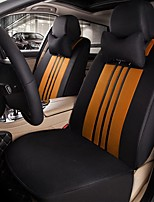 Car Seat Cushion Car Seat Cover Family Car Silk Fabric Materials Used In Four Seasons Of--Black Orange