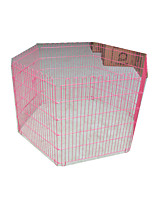 Dog Bed Pet Baskets Solid Foldable Durable Blushing Pink Blue