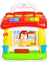 Brinquedo Educativo Acessório para Casa de Boneca Brinquedo de Leitura Plásticos Bébé