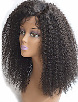 Kinky Curly Lace Front Wigs For Black Women Baby Hair 130 Density 16inches 100% Human Hair Brazilian Non-remy