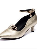Women's Latin Faux Leather Sneakers Performance Cuban Heel Ruby Silver Gold 1