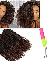Locken Gehäkelt Curly Flechten Haarverlängerungen Künstliches Haar Haar Borten