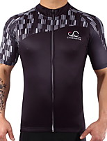 Short Sleeves Bike Tops Quick Dry Reduces Chafing Stretchy Spandex 100% Polyester LYCRA® Summer